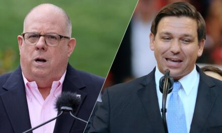 LOL: No, There Isn't a Battle Between Ron DeSantis and Larry Hogan for the Future of the GOP