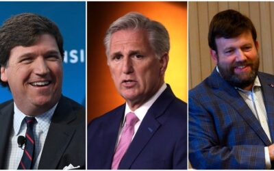 Tucker Carlson Drops Bomb: GOP Leader Kevin McCarthy and Frank Luntz Are Roommates!